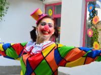 """Летнее развлечение """"В гостях у клоуна Разноцветки"""""""