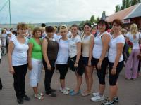 Пробежка в поддержку паралимпийской сборной России