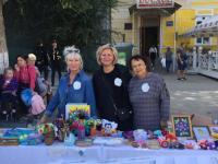 Педагоги и воспитанники МБДОУ «Детский сад № 4 «Теремок» приняли активное участие в благотворительной акции «Белый цветок»